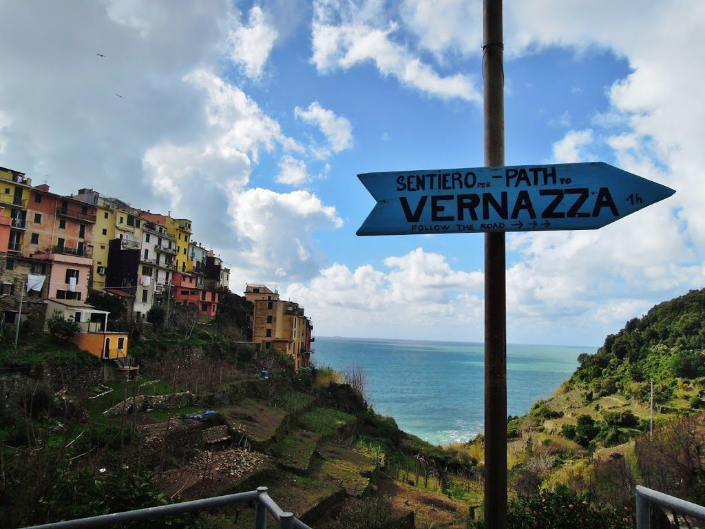 Sul sentiero verde-azzurro da Vernazza a Corniglia