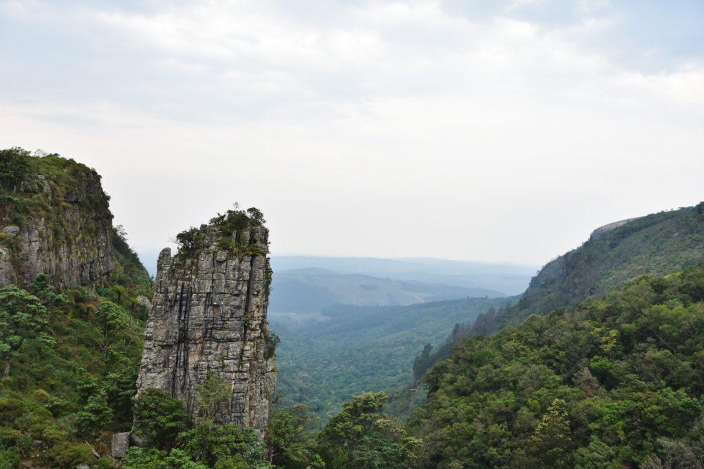 Il pinnacolo roccioso della Panorama Route