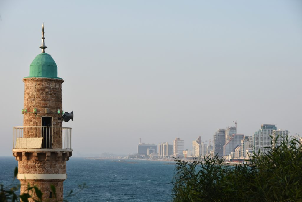 Tramonto a Jaffa