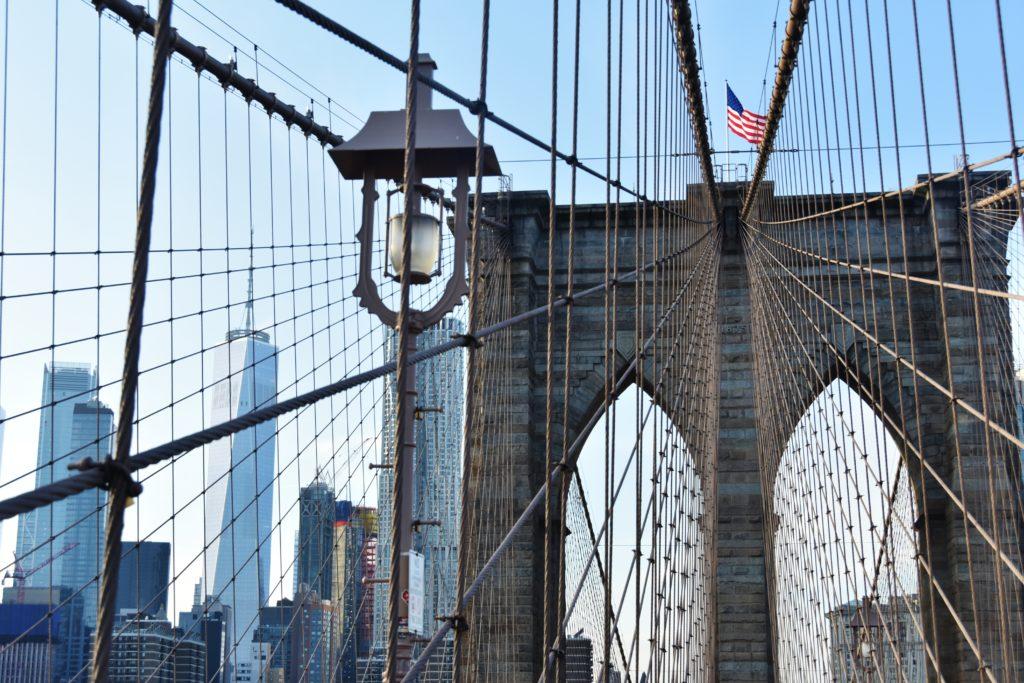 Panorama dal Ponte di Brooklyn