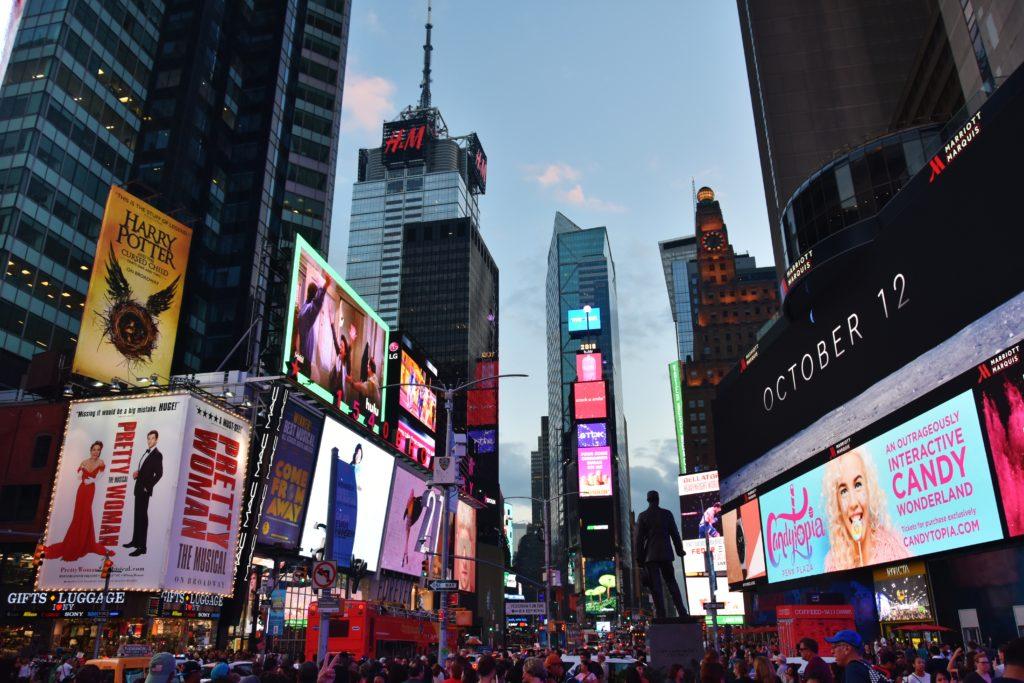 Le luci di Times Square