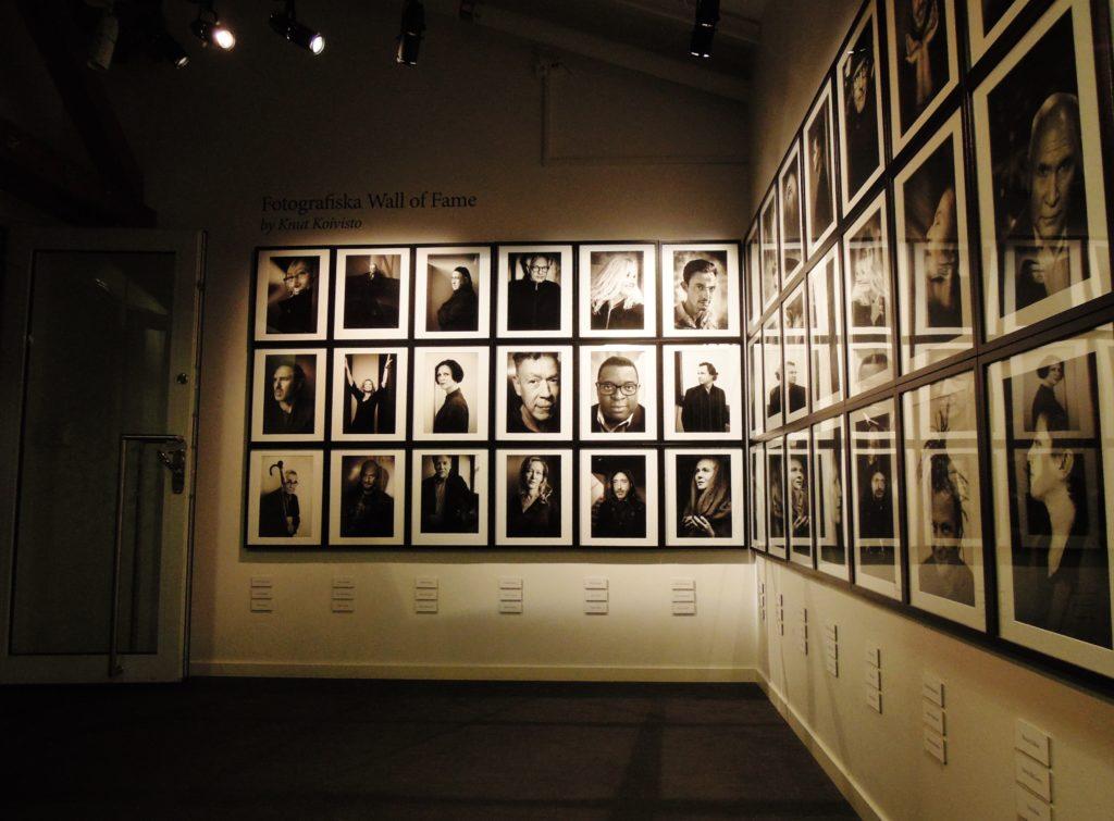 Installazioni fotografiche al Fotografiska Museum
