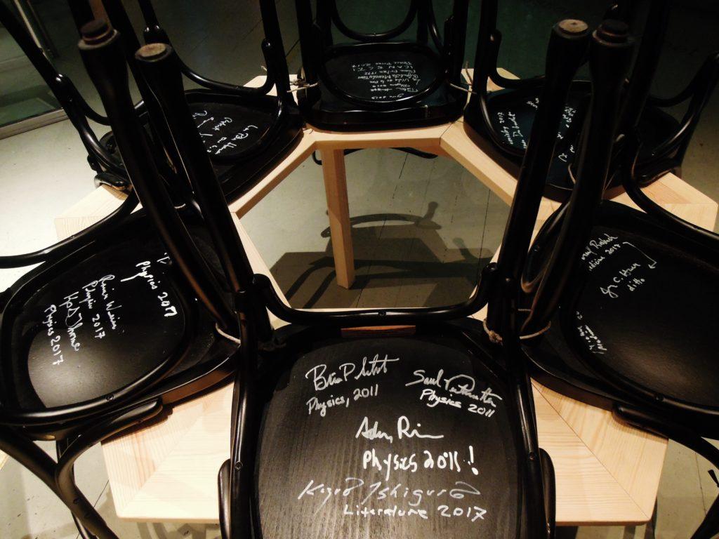 Sedie al Museo dei Nobel