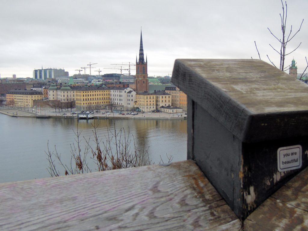 Il punto panoramico di Monteliusvägen