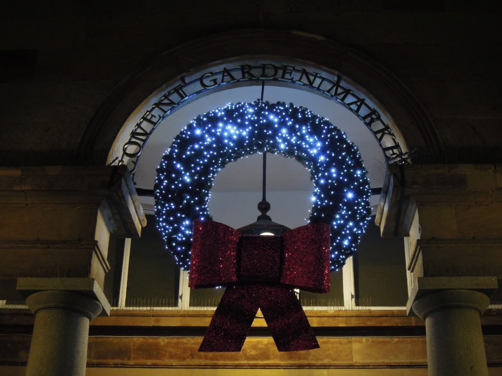 Luminarie a Covent Garden Market