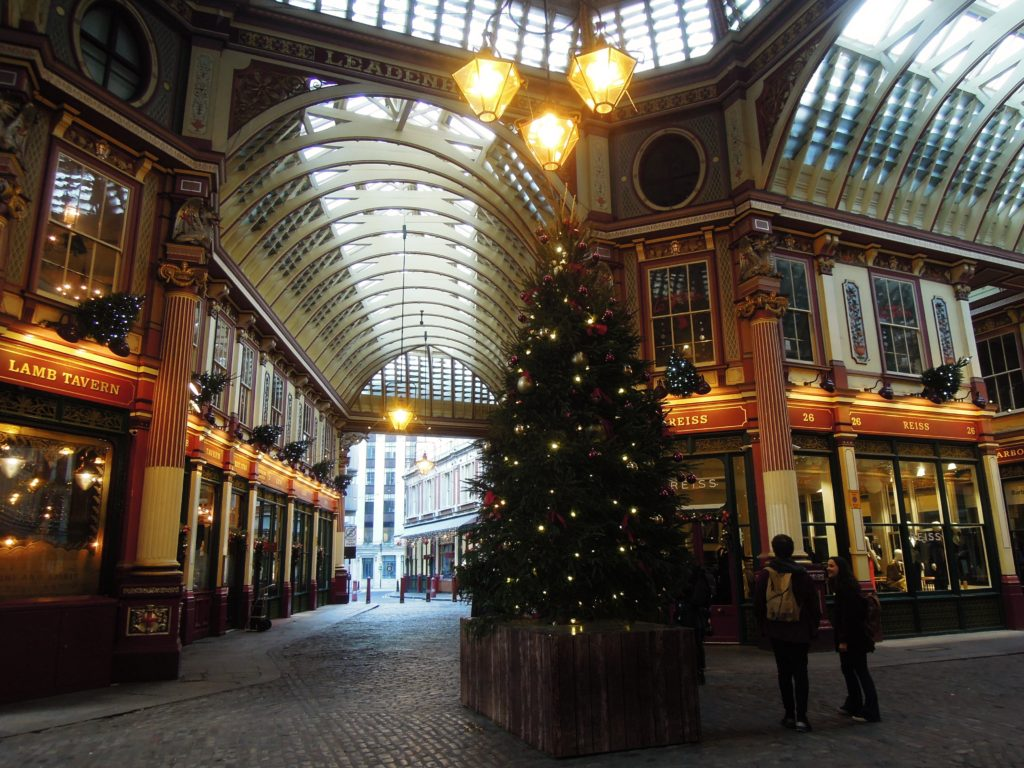Albero di Natale a Leadenhall Market