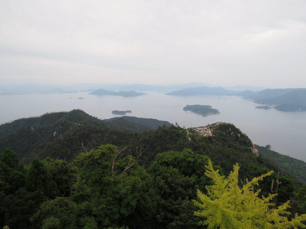 Panorama dal Monte Misen