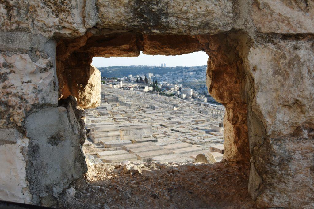 Cimitero ebraico sul Monte degli Ulivi
