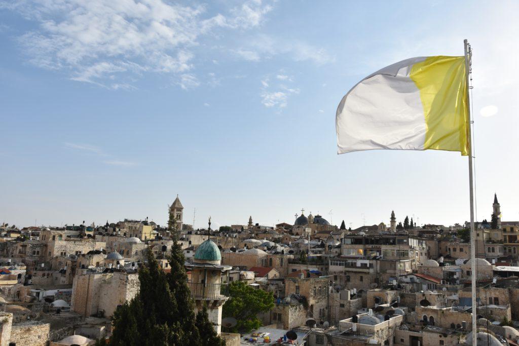 Panorama sui tetti di Gerusalemme dall'Ospizio Austriaco