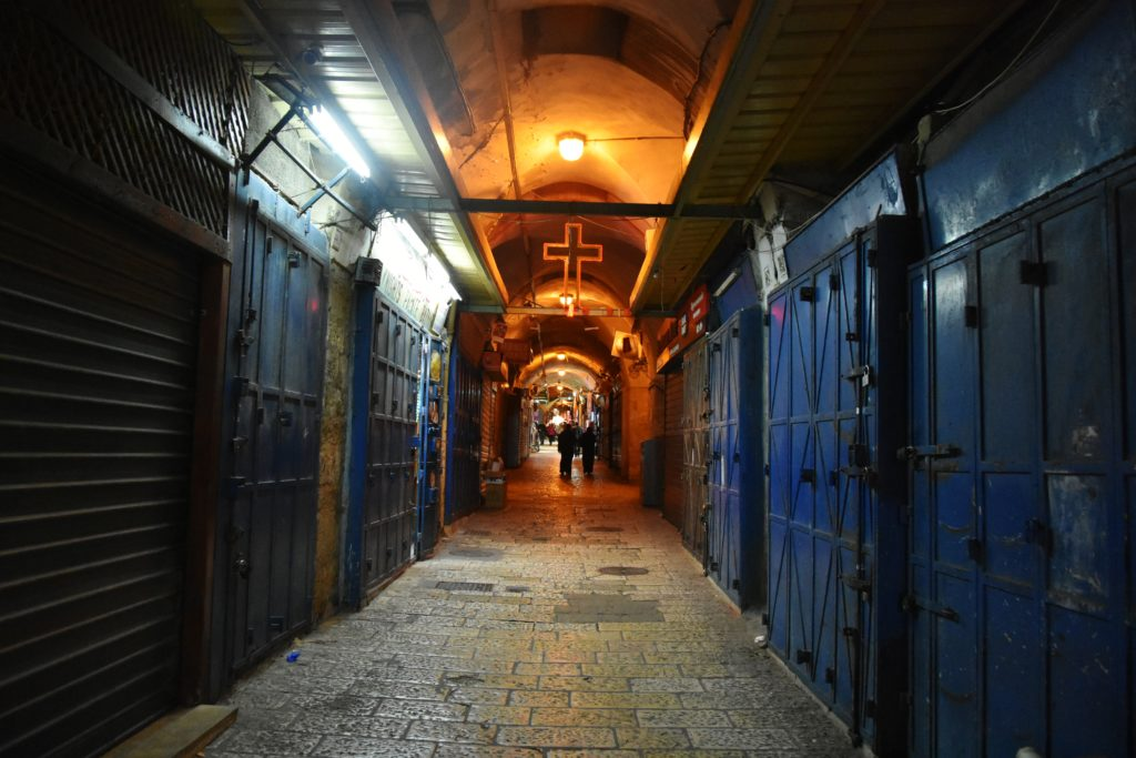 Quartiere cristiano a Gerusalemme
