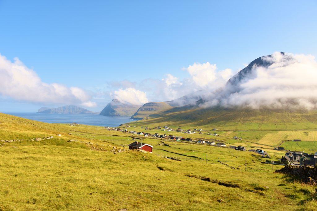 I paesaggi dell'isola di Vidoy
