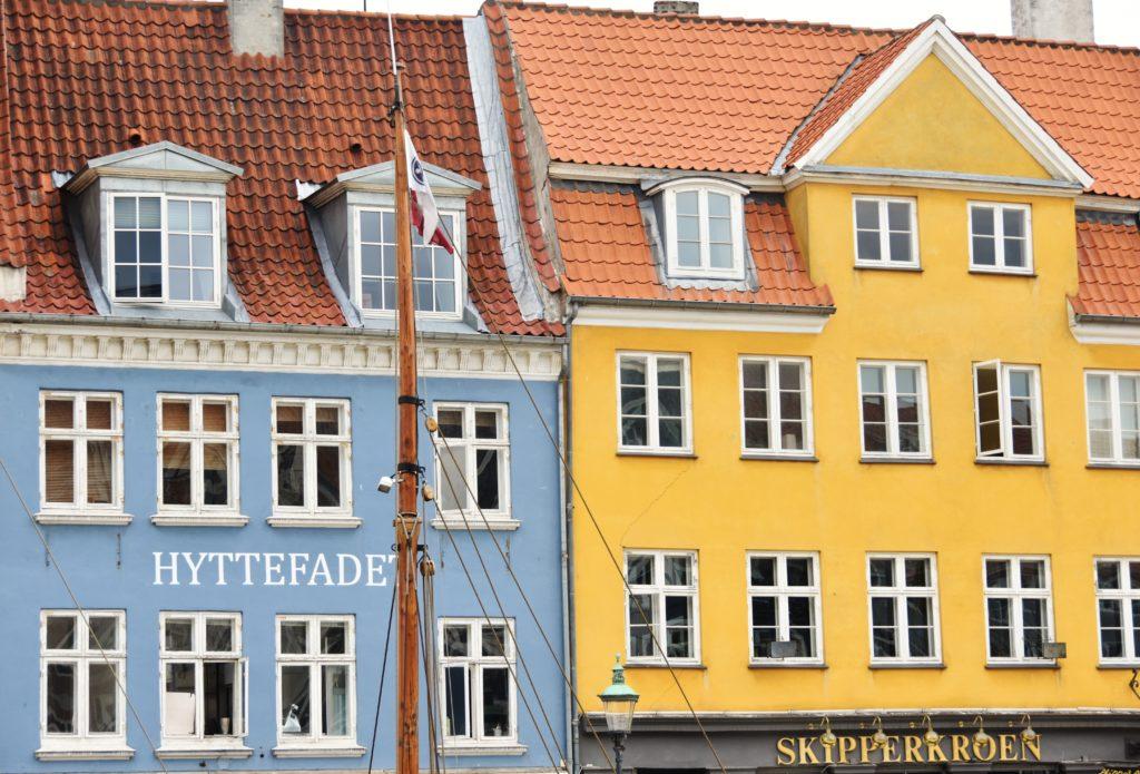 Le case di Nyhavn dai toni pastello