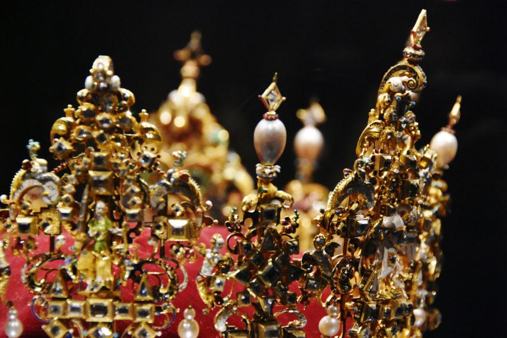 I gioielli della corona custoditi nel Castello di Rosenborg