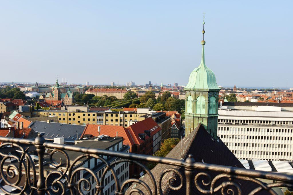 La vista sui tetti di Copenaghen