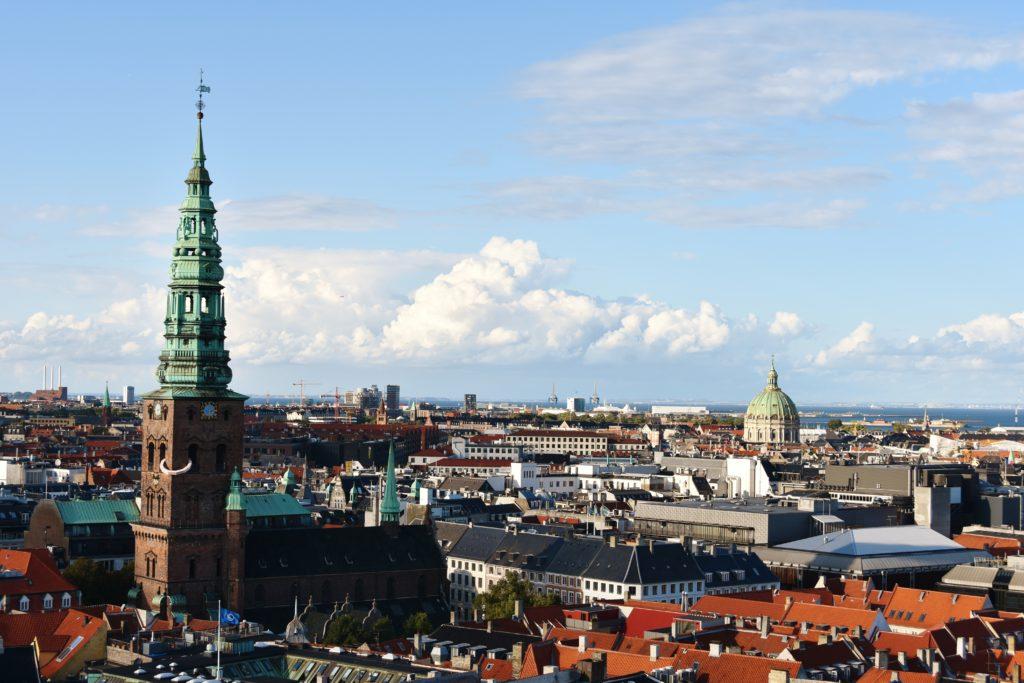 Panorama dalla Torre del Palazzo di Christiansborg