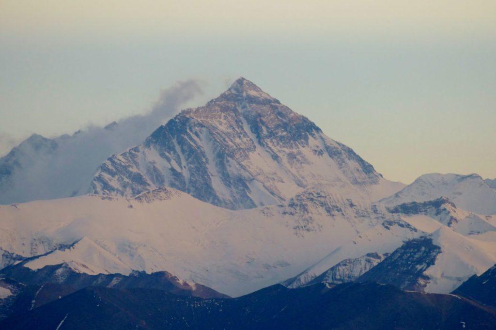 Tramonto sull'Everest