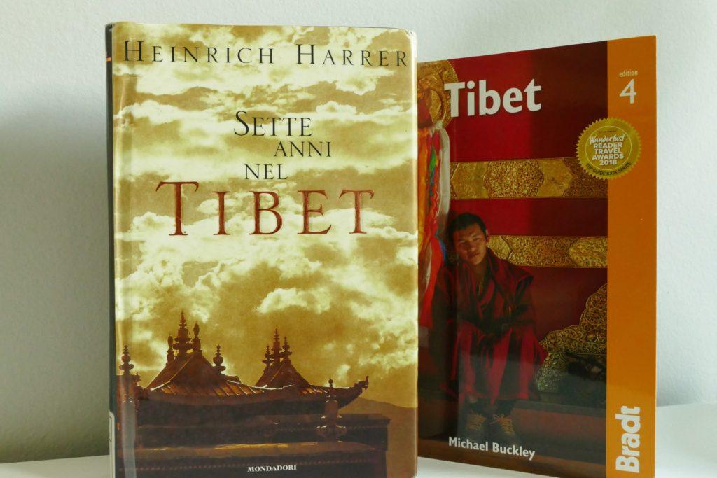 Libro Sette anni nel Tibet