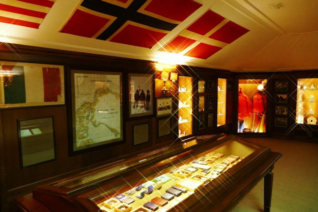 Il Museo dello spedizioni di Villa del Balbianello