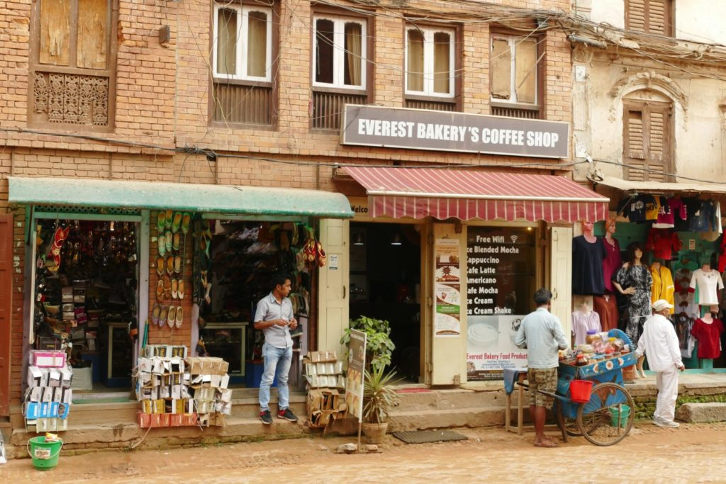 La vita tra le strade di Bhaktapur