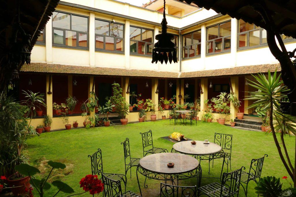 Il giardino del nostro hotel