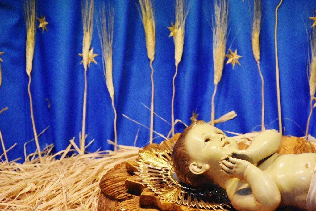 La statua di Gesù Bambino