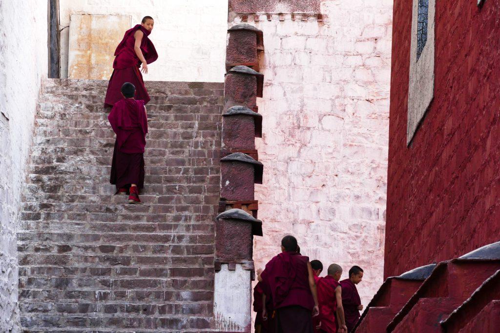 Monaci a Shigatse