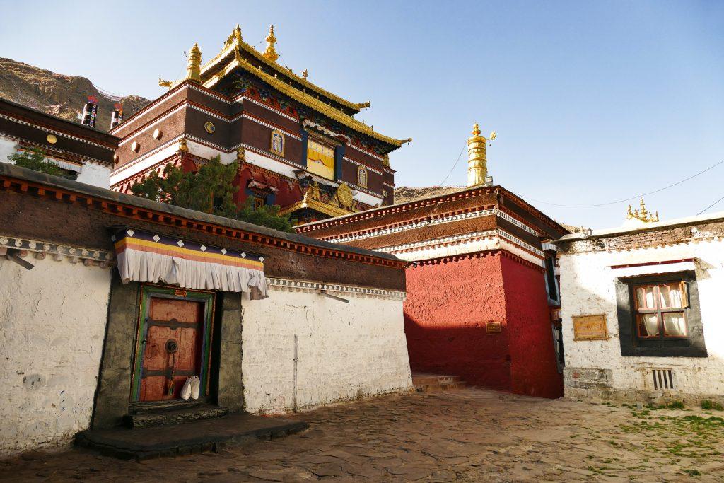 L'ingresso al monastero di Tashilhumpo