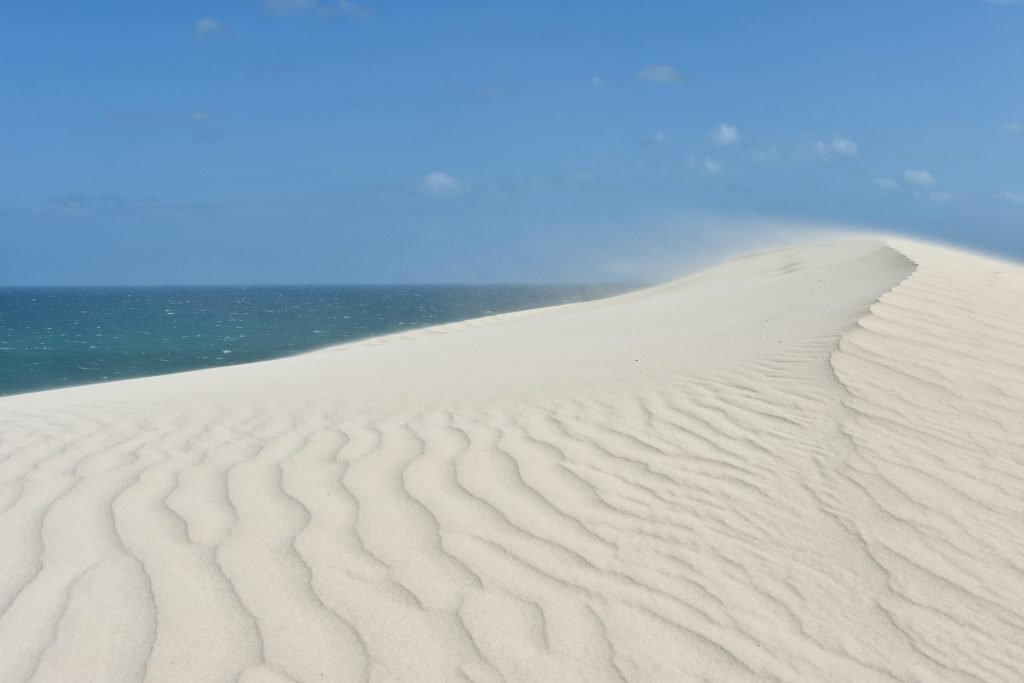 Le dune bianche di De Hoop
