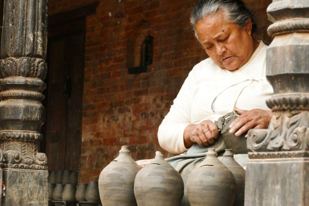 Arte ceramica a Bhaktapur