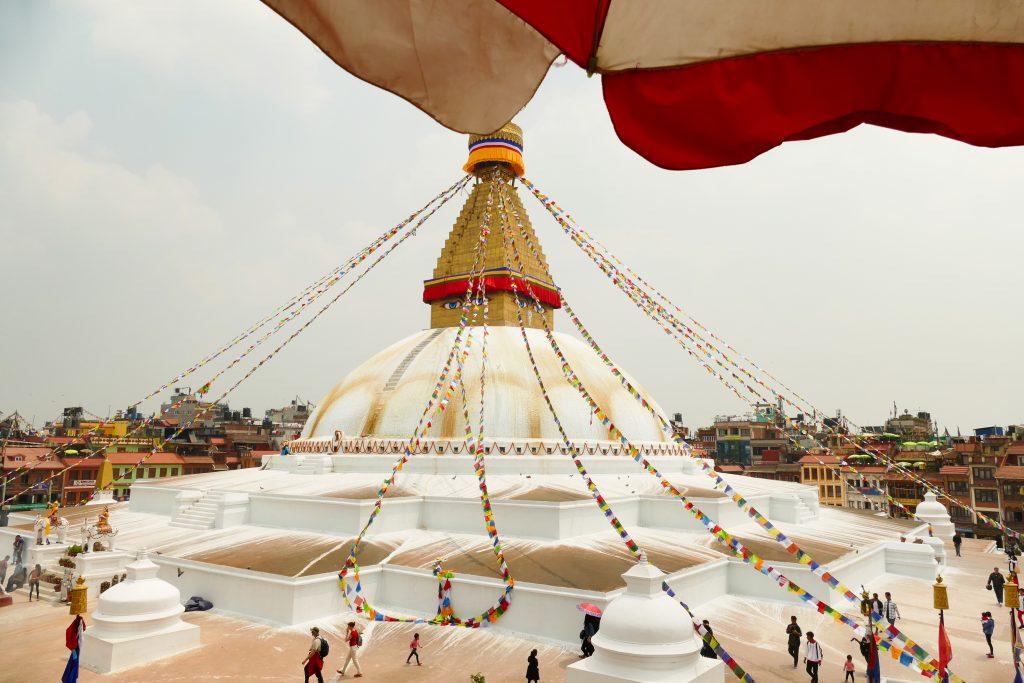 Il tempio buddhista di Boudhanath
