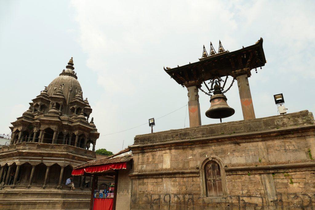 La campana di Taleju a Patan