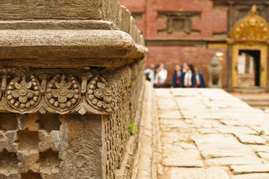 Decorazioni della Durbar Square di Patan