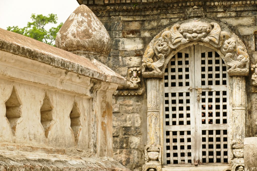 Dettagli decorativi al Tempio di Pashupatinath