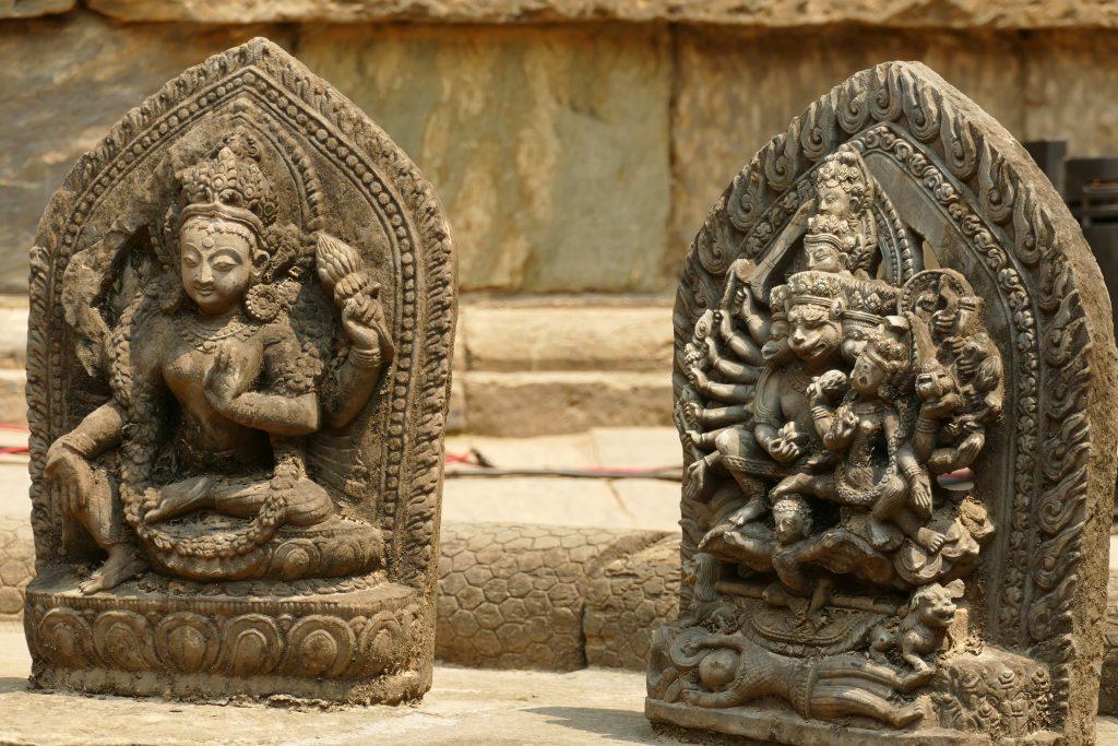 Statue decorate a Patan