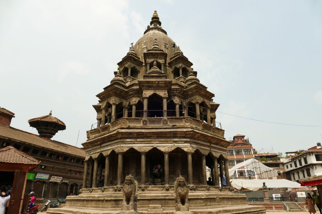 Il tempio Krishna Mandir a Patan