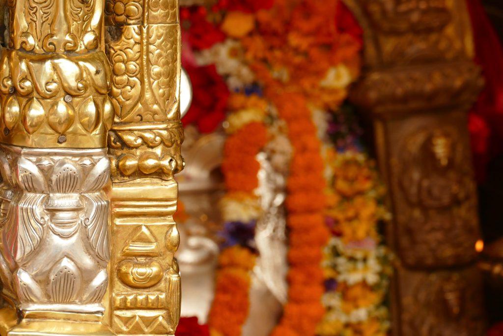 Offerte all'Annapurna Temple