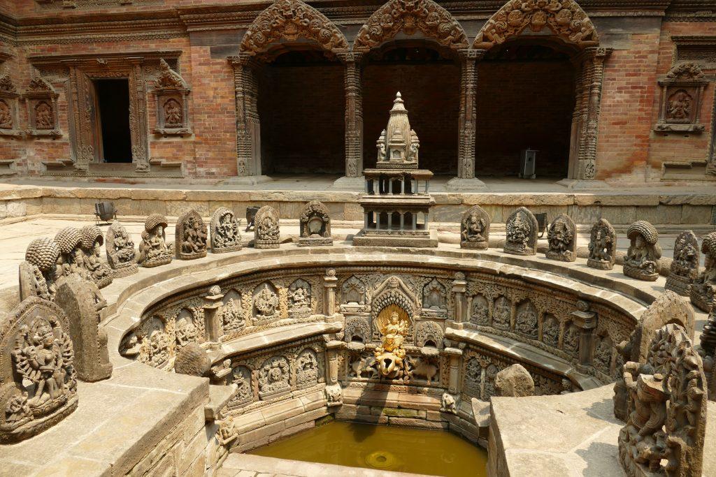 Fontana del Palazzo Reale di Patan