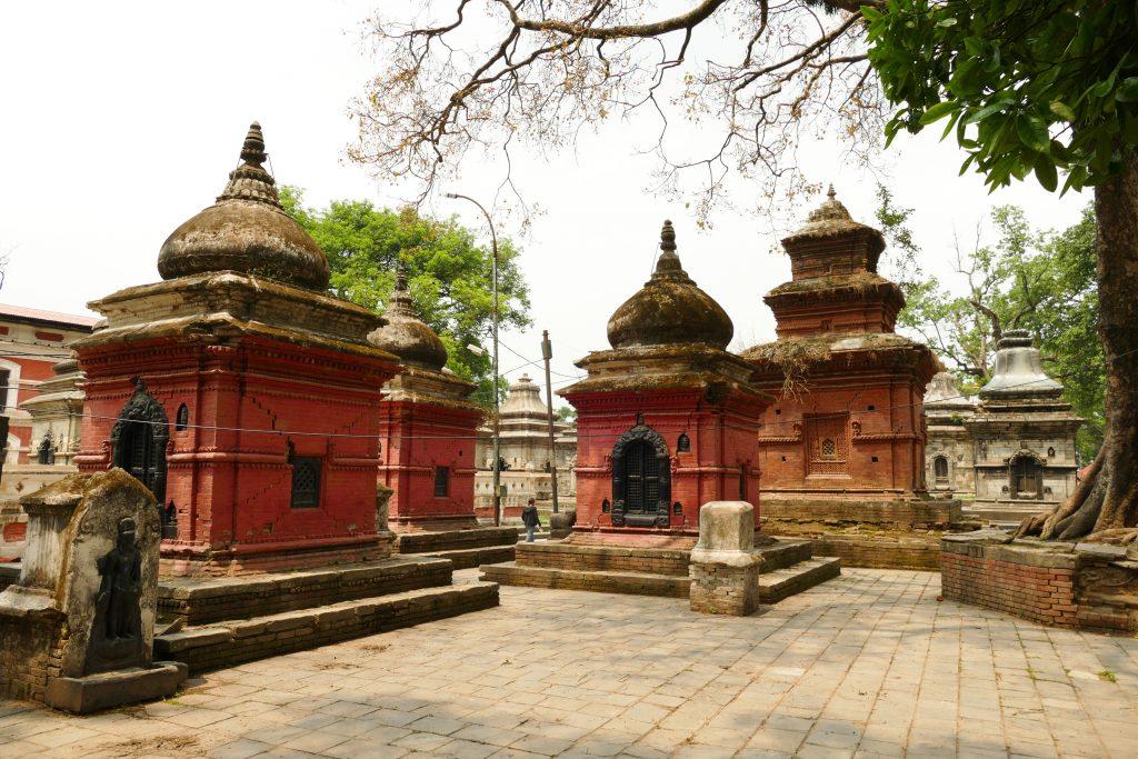 Cortili interni al Tempio di Pashupatinath