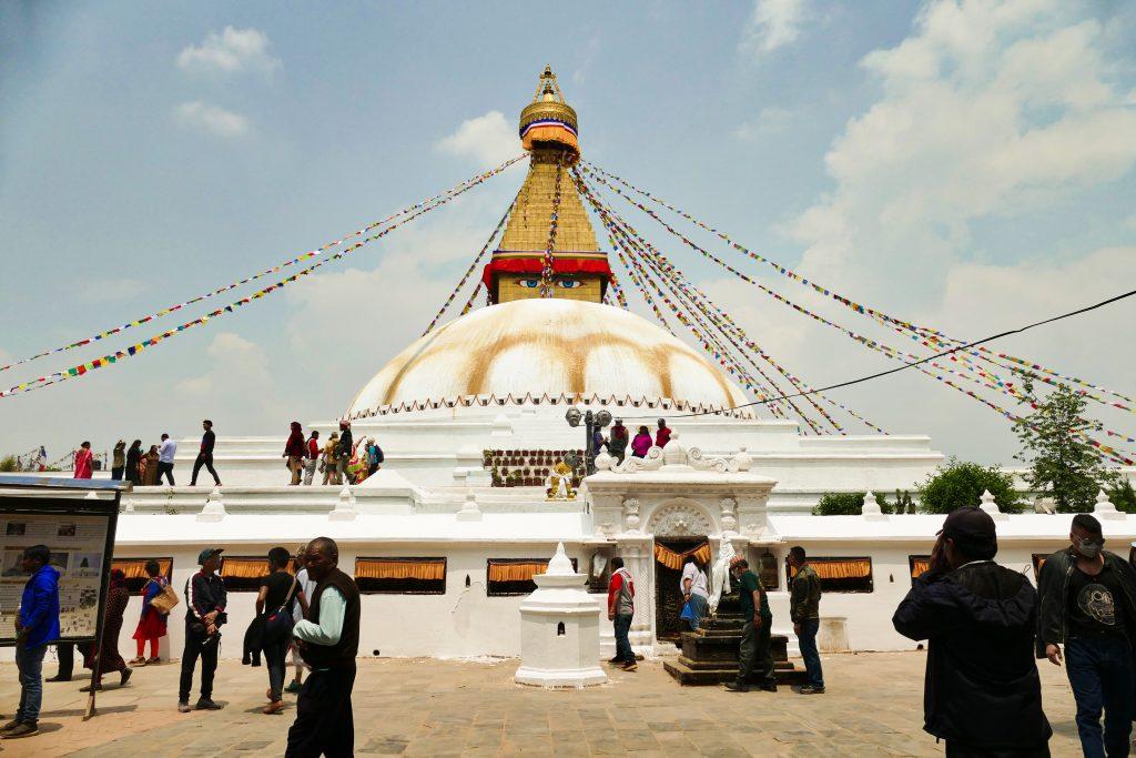 La stupa di Boudhanath