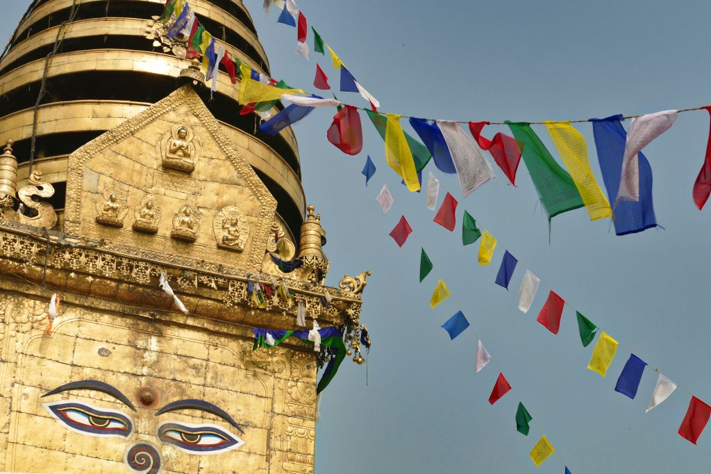 Il tempio di Swyambhnunath