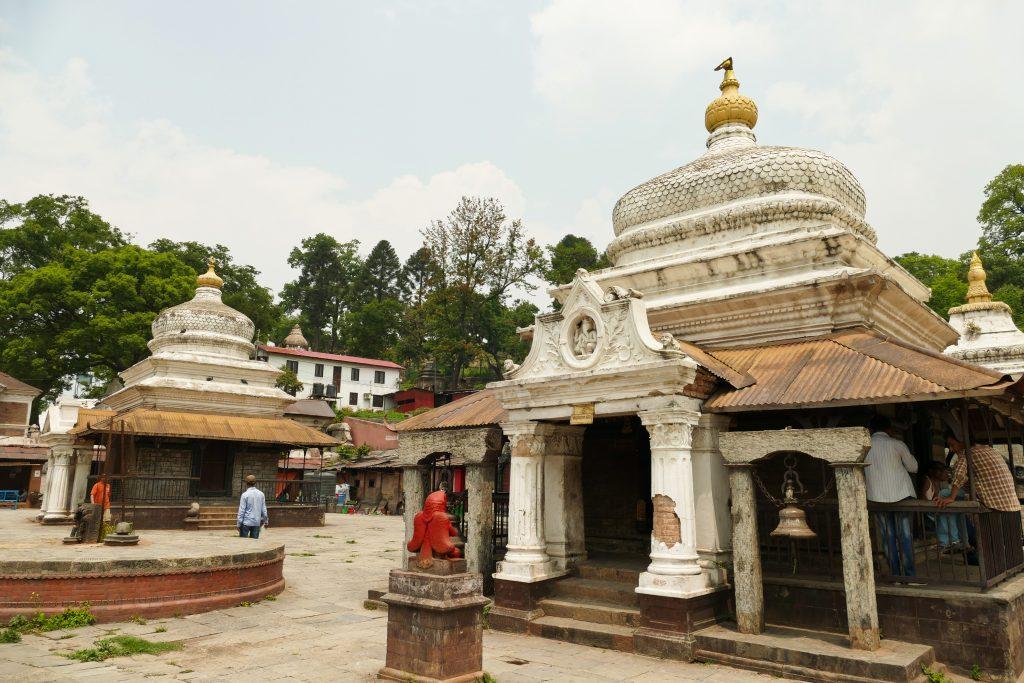 Cappelle nel Tempio di Pashupatinath