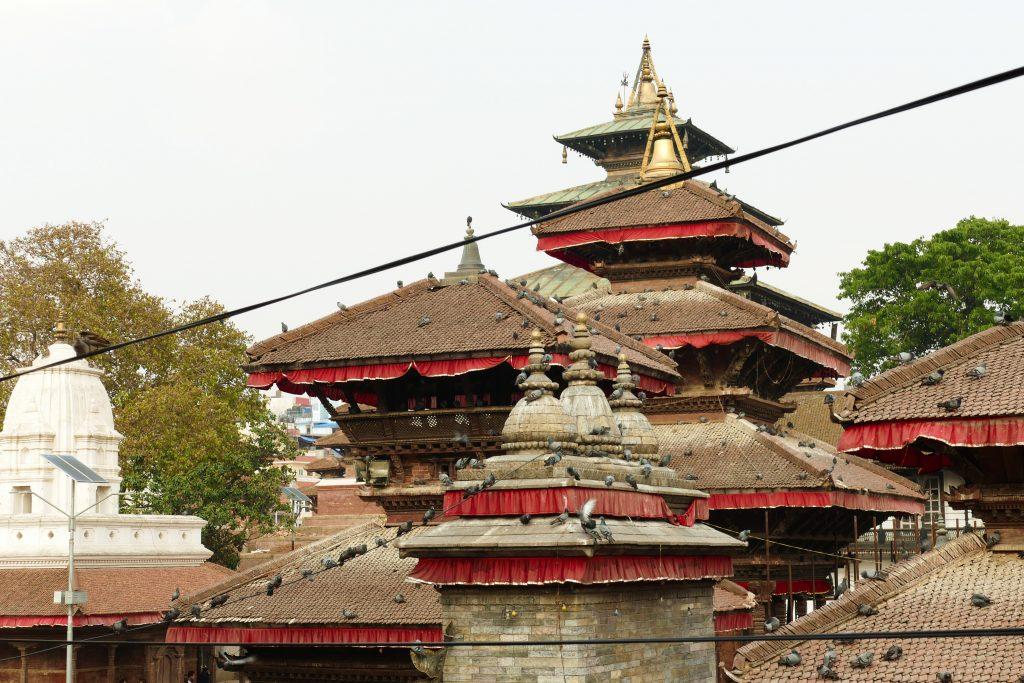 I tetti di Kathmandu