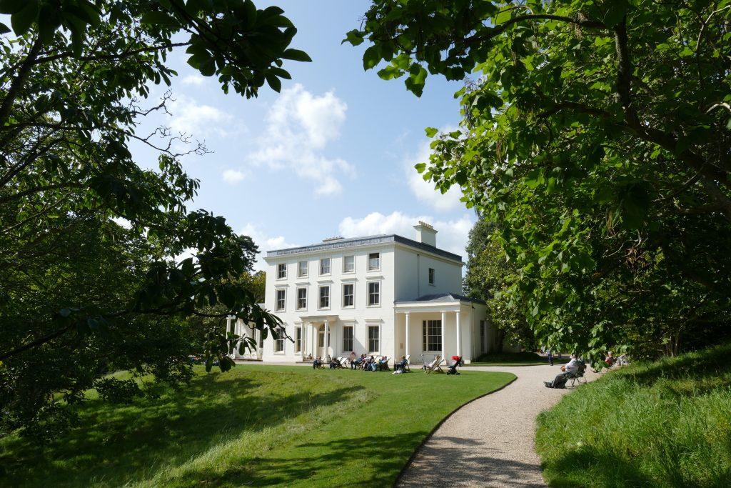 Greenway House e il giardino circostante