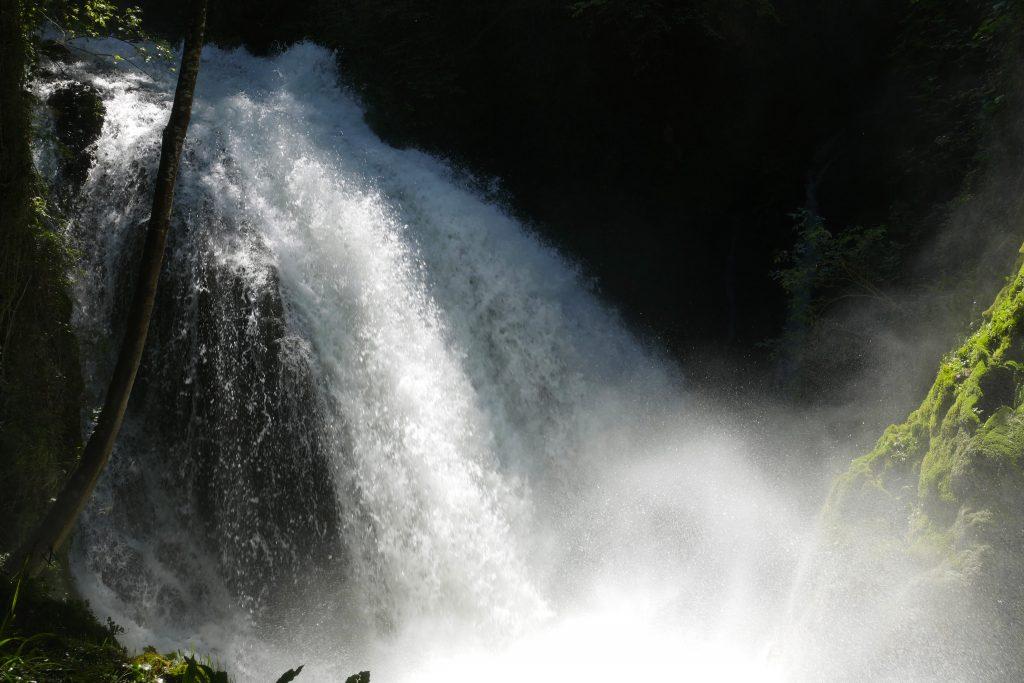 La potenza della Cascata delle Marmore