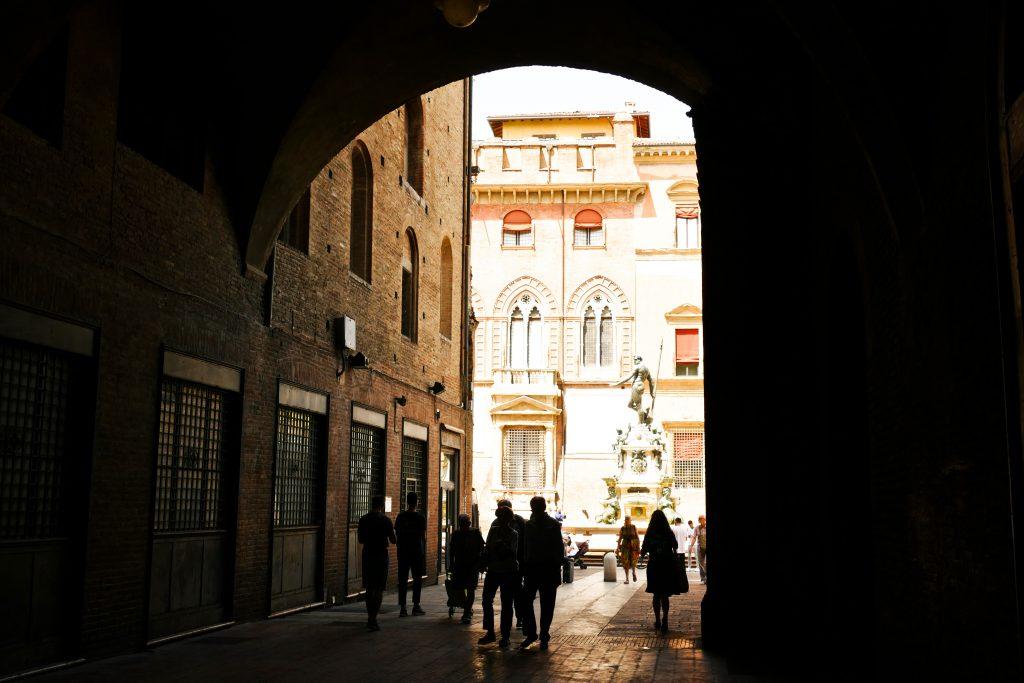 Il voltone di Palazzo Podestà