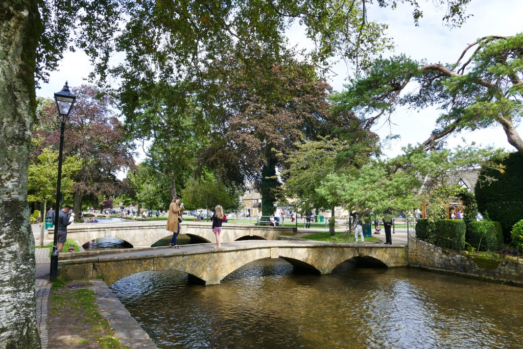 Canali di Bourton-on-the-water