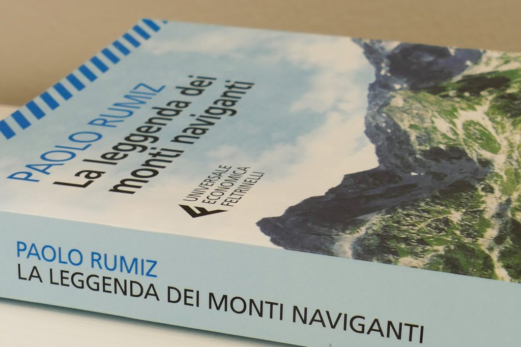 Libro La leggenda dei monti naviganti di Rumiz