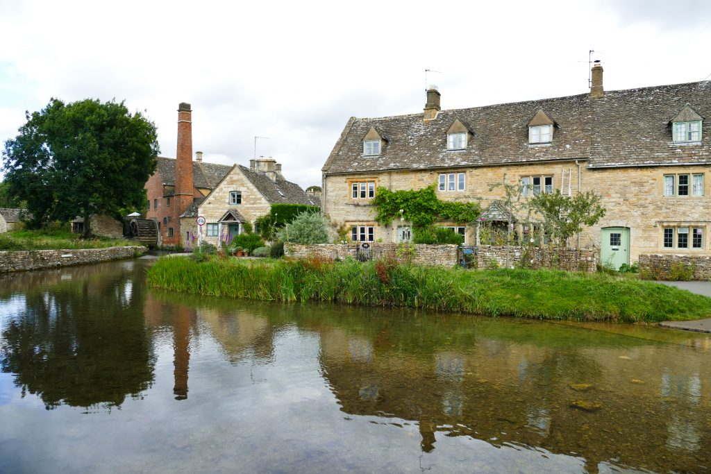 Lower Slaughter sul fiume Eyre