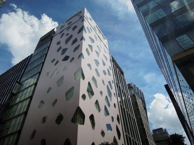 Architettura moderna a Ginza
