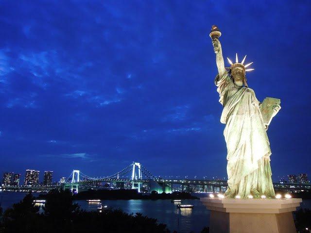 Statua della Libertà ad Odaiba